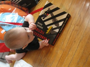 alex eating book